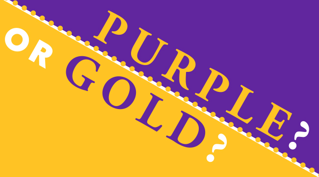 Purple or Gold - Academy Giving Day