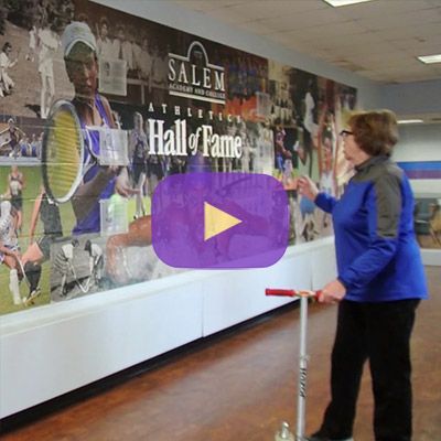 Tour the Athletics Facilities with Lorie Howard