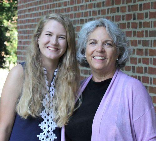 Faith Harcus with Carol Killebrew