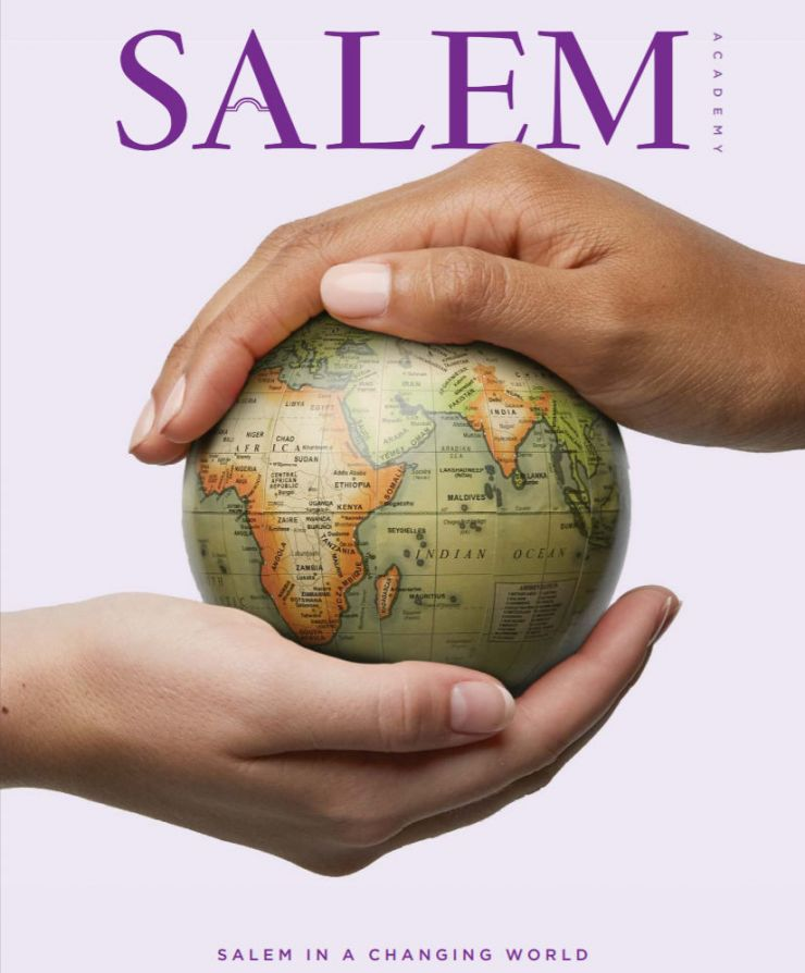 Salem Academy Magazine Cover 2019